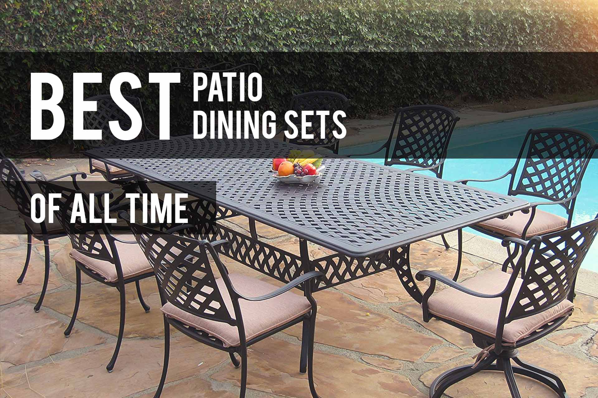 Best Patio Dining Sets 2020 Reviews