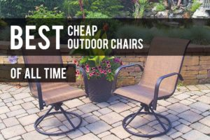 Cheap Outdoor Chairs